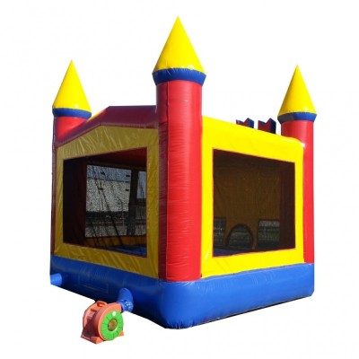 Rainbow Castle Bounce House
